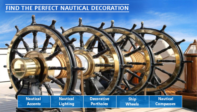 Nautical Decor Telescopes